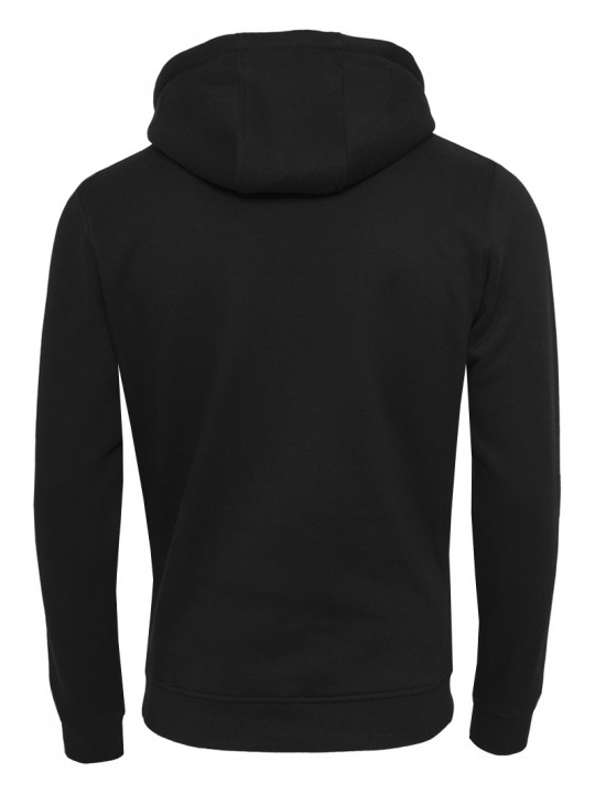 sara doorsoun | focus-hoodie | men`s cut | black