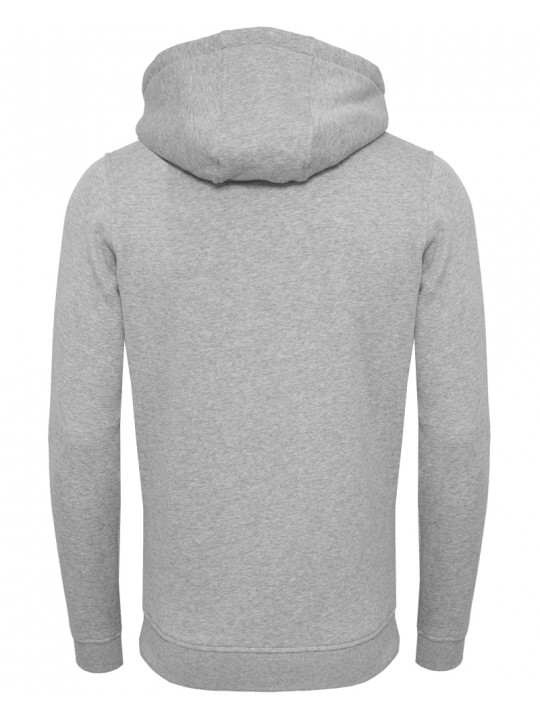 sara doorsoun | focus-hoodie | men`s cut | light grey