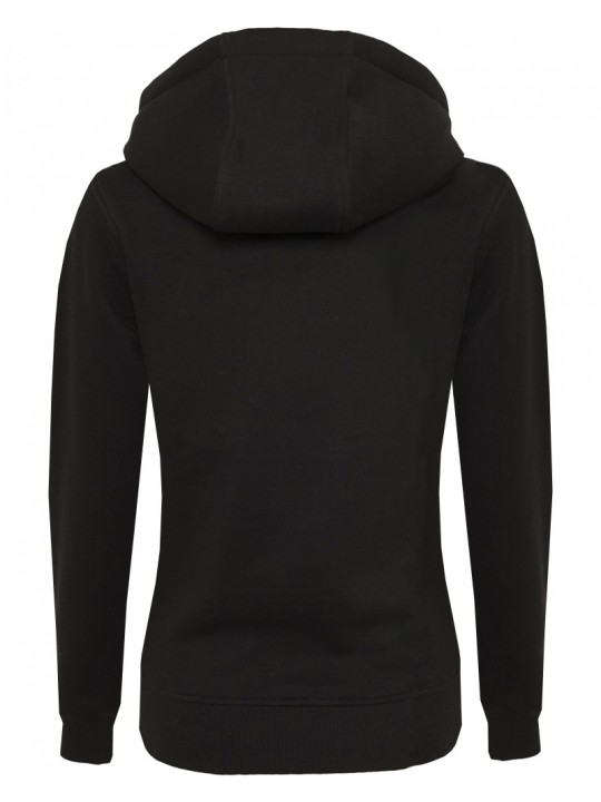 sara doorsoun | focus-hoodie | women`s cut | black