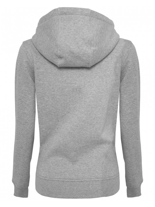 sara doorsoun | focus-hoodie | women`s cut | light grey