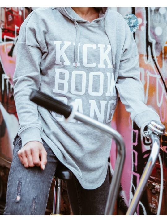 fssbll | oversize hoodie kbb | women's cut | light grey
