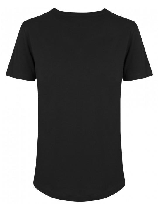 fssbll | shirt heaven| women's cut | black