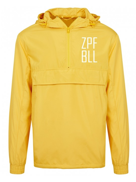Pullover Jacket yellow zopfball