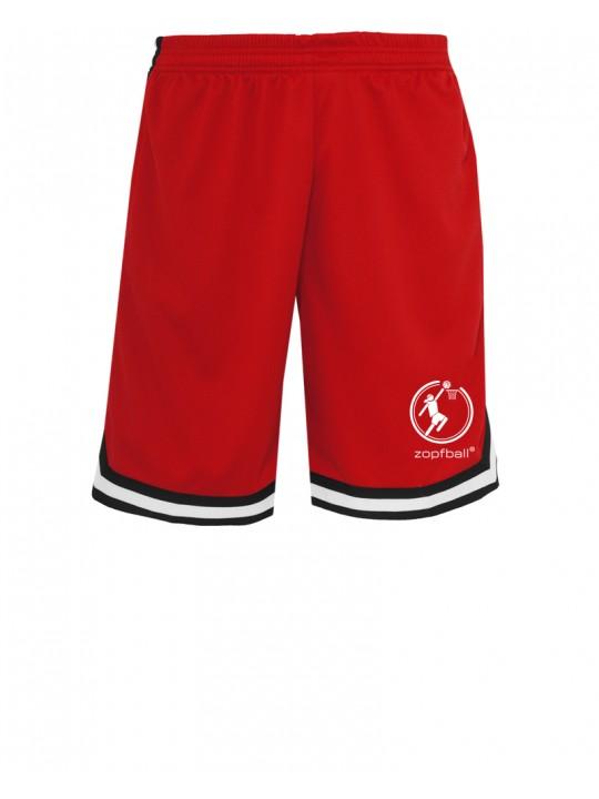 zopfball basketball shorts front